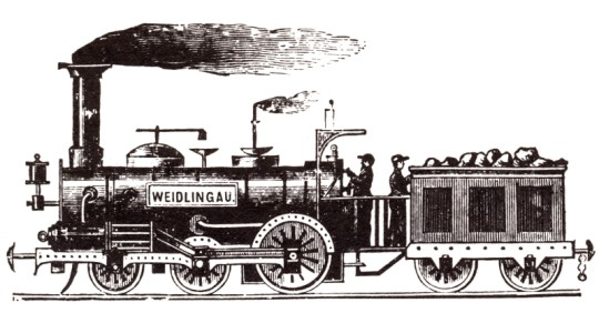 Weidlingau dampflokomotive