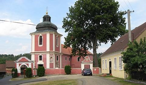 Poutní kostel na Hrádku